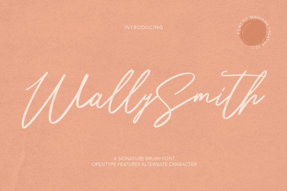 Wally Smith Font