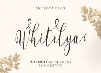 Whitelya Font
