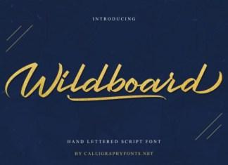 Wildboard Font