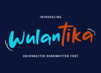 Wulantika Font