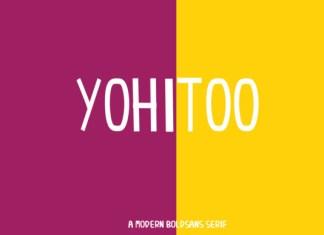 Yohitoo Font
