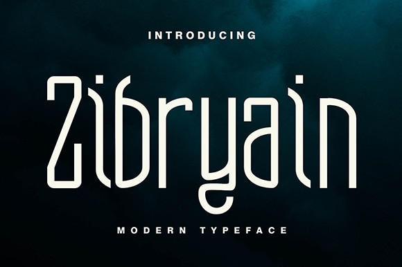 Zibryain Font