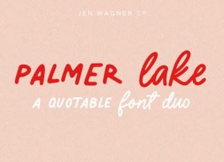 Palmer Lake Font