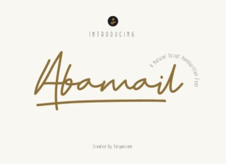 Abamail Font