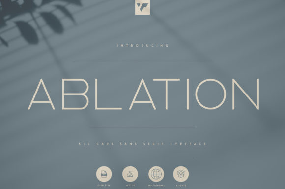 Ablation Font