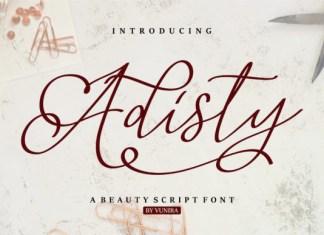 Adisty Font