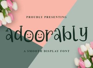 Adoorably Font