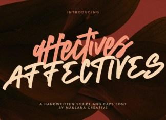 Affectives Font