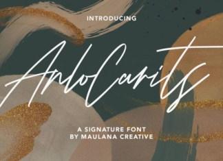 Arlo Carits Font