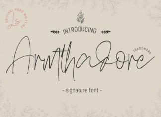 Armthadore Font