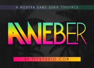 Aweber Font