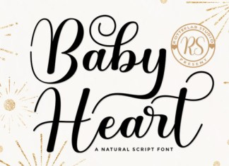 Baby Heart Font
