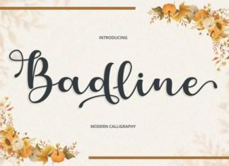 Badline Font
