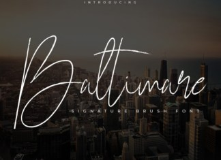 Baltimare Font