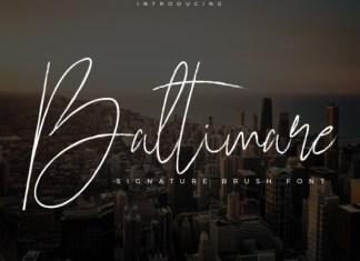 Baltimare Font
