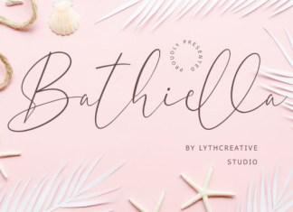 Bathiella Font