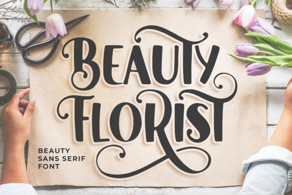 Beauty Florist Font