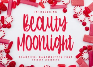 Beauty Moonlight Font