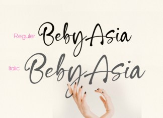Beby Asia Font
