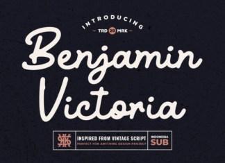 Benjamin Victoria Font