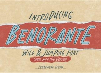Benorante Font