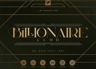 Billionaire Club Font