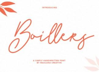 Boillers Font