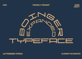 Boinger Font