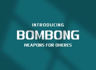 Bombong Font
