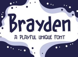 Brayden Font