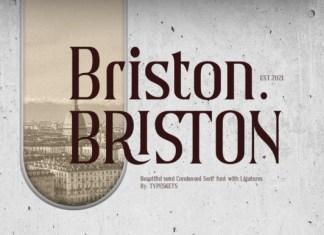 Briston Font