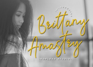 Brittany Amastry Font