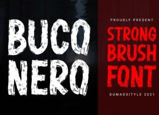 Buco Nero Font