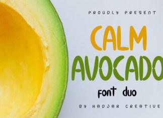 Calm Avocado Font