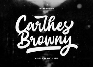 Carlhes Browny Script Font