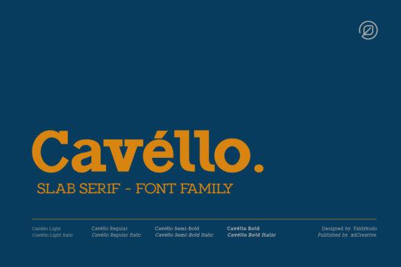 Cavéllo Font