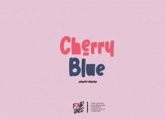 Cherry Blue Font