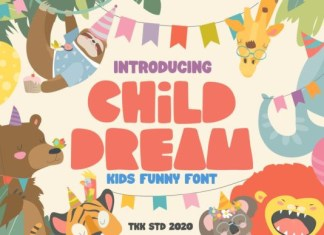 Child Dream Font