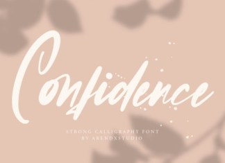 Confidence Font