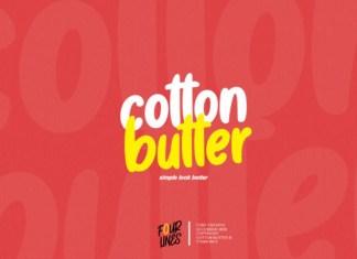 Cotton Butter Font