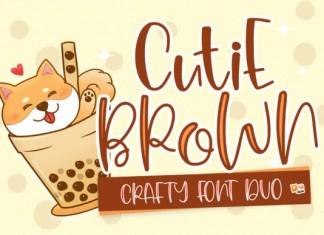 Cutie Brown Font
