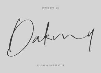 Dakmy Font