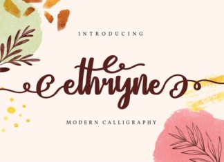 Ethryne Font