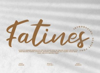 Fatines Font