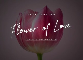 Flower of Love Font