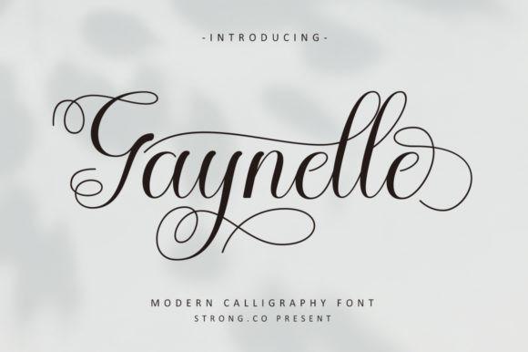 Geynelle Font
