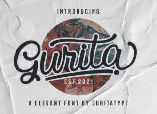 Gurita Font