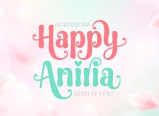 Happy Aniria Font