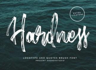 Hardness Font