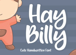 Hay Billy Font